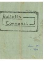 1er Bulletin Municipal